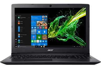 ACER Aspire 3 (A315-53G-345H), Notebook mit 15.6 Zoll Display, Core™ i3 Prozessor, 8 GB RAM, 1 TB HDD, NVIDIA® GeForce® MX130, Schwarz