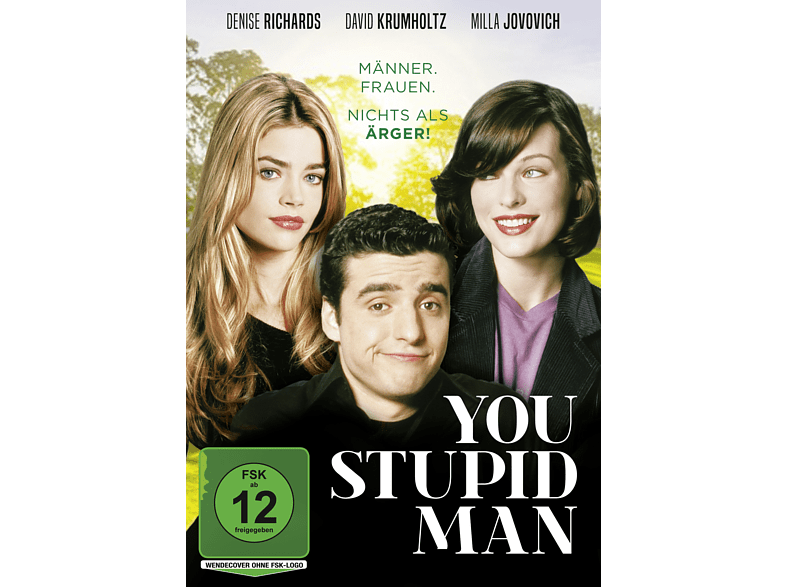 YOU STUPID MAN [DVD]