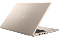 ASUS VivoBook N580GD-E4171T, Notebook mit 15.6 Zoll Display, Core™ i7 Prozessor, 8 GB RAM, 1 TB HDD, 256 GB SSD, GeForce® GTX 1050, Gold/Schwarz