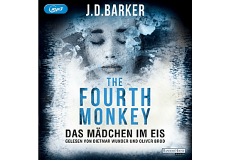 The Fourth Monkey-Das Mädchen Im Eis - 2 MP3-CD - Krimi/Thriller