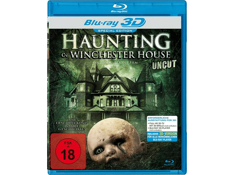 Haunting Of Winchester House Real 3d [Blu-ray]