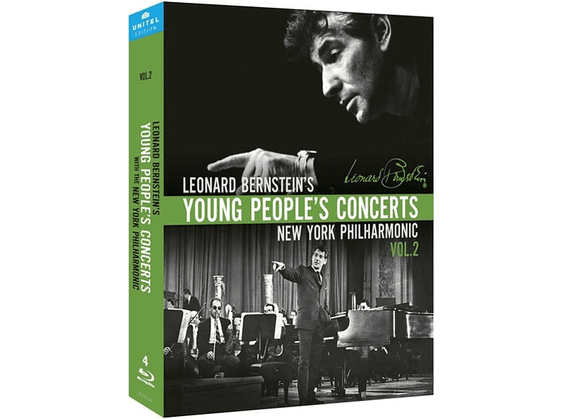 Leonard Bernstein - Young People's Concerts,Vol.2 [Blu-ray]