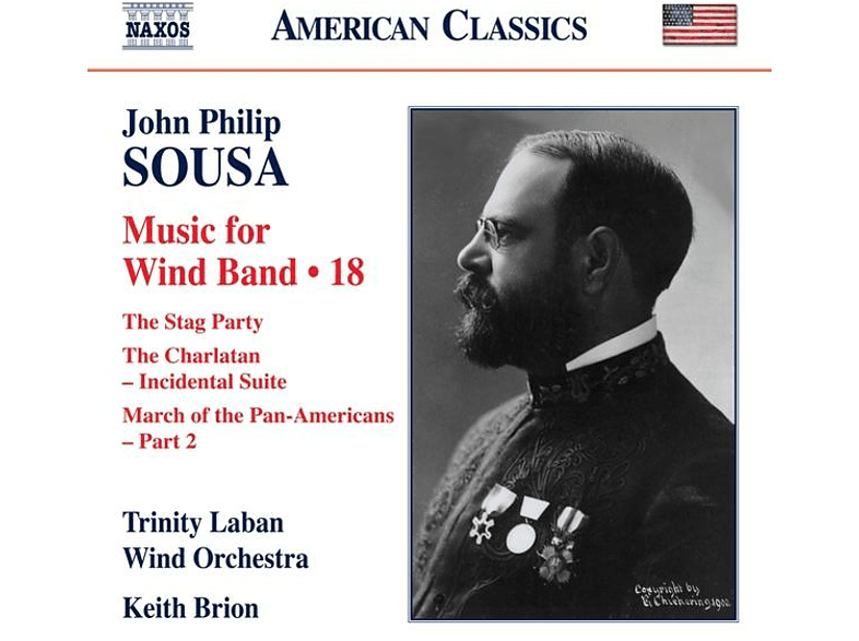 Keith/trinity Laban Wind Orchestra Brion - MUSIC FOR WIND BAND VOL.18 [CD]