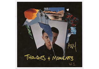 Ady Suleiman - Thoughts & Moments Vol.1 Mixtape-Red Vinyl - (Vinyl)
