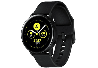 "Smartwatch - Samsung Galaxy Watch Active, 1.1"" AMOLED, HR, GPS, Bluetooth, Wi-Fi, NFC, Negro"