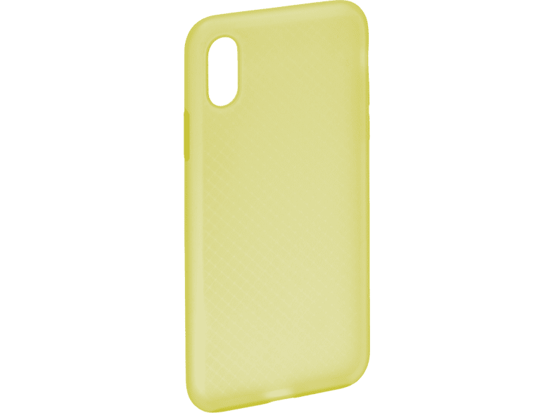 HAMA Soft Backcover Apple iPhone X, iPhone XS  Gelb