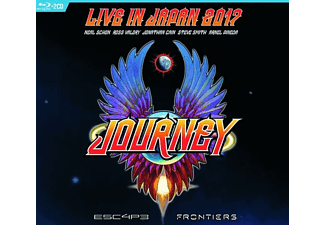 Journey - Escape & Frontiers Live In Japan (2CD+Blu-Ray) - (CD + Blu-ray Disc)