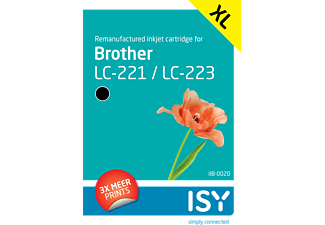 ISY Brother LC 223 Zwart