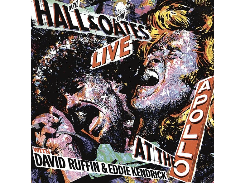 Hall & Oates - Live At The Apollo [CD]