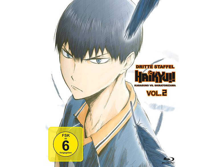 Haikyu!! - Dritte Staffel - Vol. 2 [Blu-ray]
