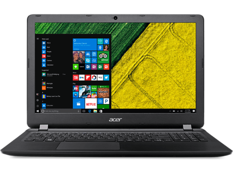 ACER  Aspire ES 15 (ES1-533-P635), Notebook, Pentium® Prozessor, 8 GB RAM, 1 TB HDD, Intel® HD-Grafik 505, Schwarz | 04713392788413