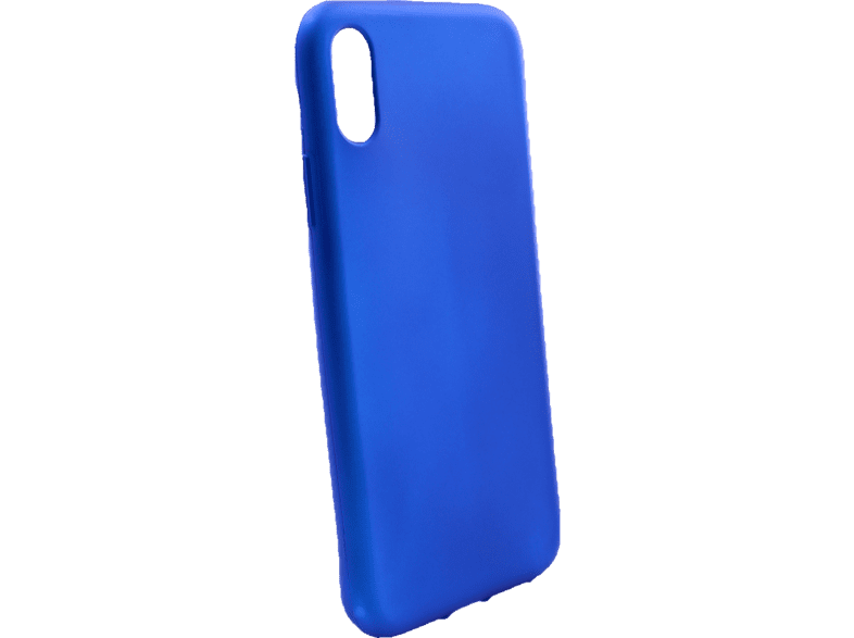 AGM 27521 Soft , Backcover, Apple, iPhone XR, Thermoplastisches Polyurethan, Dunkelblau