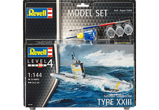 REVELL Model Set German Submarine XXII Bauset, Mehrfarbig