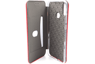 AGM 27646 Smart , Bookcover, Huawei, P Smart 2019, Obermaterial Kunstleder, Stoff, Thermoplastisches Polyurethan, Rot