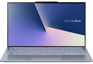 ASUS ASUS ZenBook S13 (UX392FA-AB019T), Notebook mit 13.9 Zoll Display, Core i5 Prozessor, 16 GB RAM, 512 GB SSD, Intel UHD Grafik 620, Utopia Blue