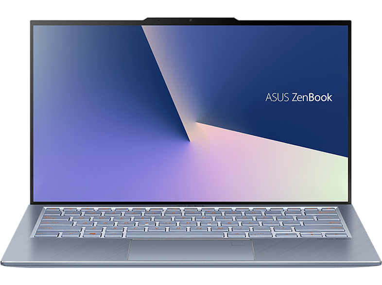 ASUS ZenBook S UX392FN, Notebook mit 13.9 Zoll Display, Core™ i7 Prozessor, 16 GB RAM, 1 TB SSD, NVIDIA GeForce MX150, Utopia Blue