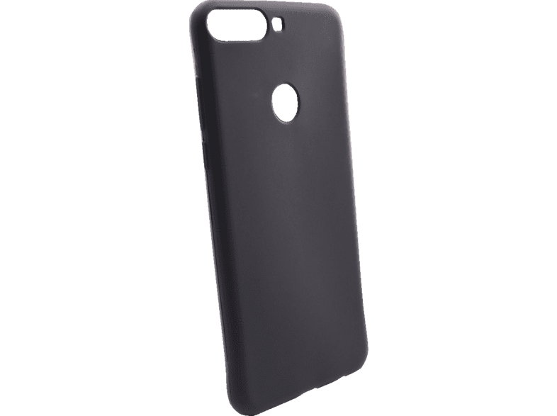 AGM  27924 Soft Backcover Huawei Y7 (2018) Thermoplastisches Polyurethan Schwarz | 04026436279243