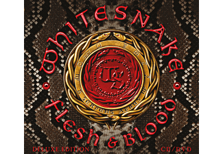 Whitesnake - Flesh & Blood (CD+DVD Digipak) - (CD + DVD Video)