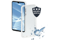 HAMA Protector , Backcover, Huawei, P30, Thermoplastisches Polyurethan, Weiß/Transparent