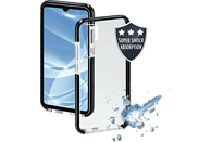 HAMA Protector , Backcover, Huawei, P30 Pro, Thermoplastisches Polyurethan, Transparent/Schwarz