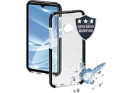 HAMA Protector , Backcover, Huawei, P30 Lite, Thermoplastisches Polyurethan, Transparent/Schwarz