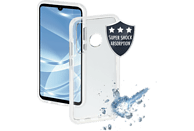 HAMA Protector , Backcover, Huawei, P30 Lite, Thermoplastisches Polyurethan, Transparent/Weiß