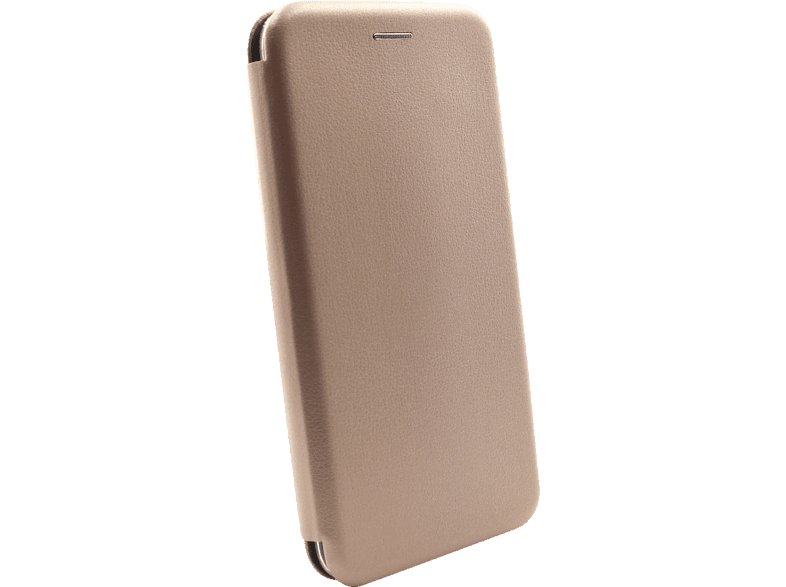 AGM 27918 Smart , Bookcover, Huawei, Y7 (2018), Obermaterial Kunstleder, Stoff, Thermoplastisches Polyurethan, Gold