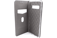 AGM 27939 Relief , Bookcover, Samsung, Galaxy S10+, Obermaterial Kunstleder, Stoff, Thermoplastisches Polyurethan, Aluminium, Gold