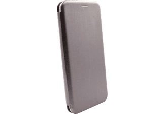 AGM 27917 Smart Bookcover Huawei Y7 (2018) Obermaterial Kunstleder, Stoff, Thermoplastisches Polyurethan Grau