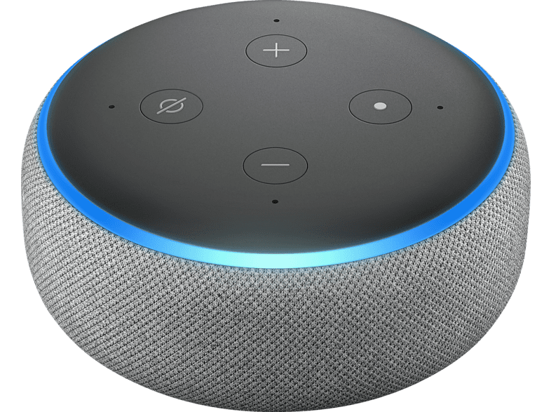 AMAZON Echo Dot 3. Generation Smart Speaker, Grau | MediaMarkt