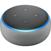 AMAZON Echo Dot 3. Generation Smart Speaker mit Sprachsteuerung, Grau/ Hellgrau