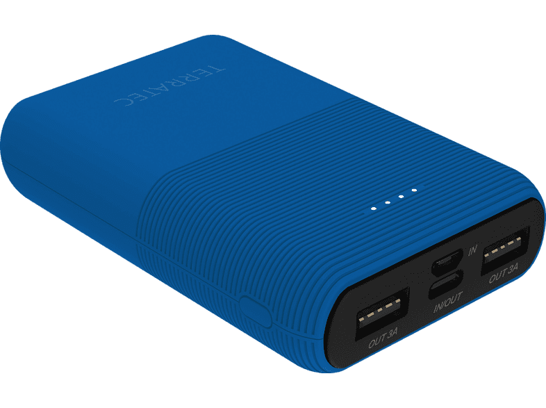 TERRATEC P100 Pocket Powerbank 10.000 mAh (37 Wh) Daphne