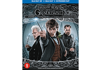 Fantastic Beasts: The Crimes of Grindelwald - 3D Blu-ray