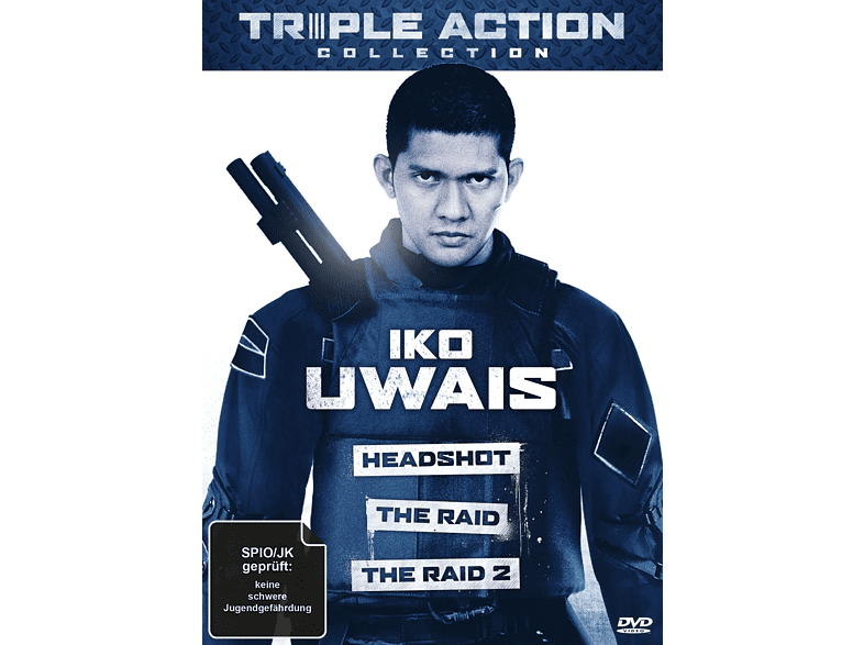 Iko Uwais Triple Action Collection [DVD]