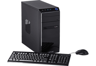 CAPTIVA POWER-Starter R48-631, Desktop PC mit A8 Prozessor, 8 GB RAM, 120 GB SSD, 1 TB HDD, Radeon R7