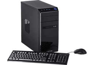 CAPTIVA POWER-Starter R48-634, Desktop PC mit A8 Prozessor, 16 GB RAM, 240 GB SSD, 1 TB HDD, Radeon R7
