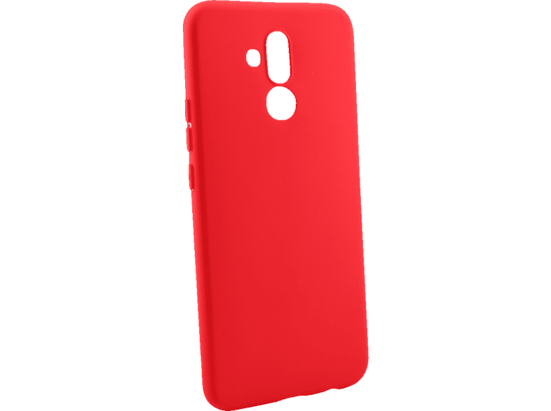 AGM 28046 Matt , Backcover, Huawei, Mate 20 lite, Thermoplastisches Polyurethan, Rot