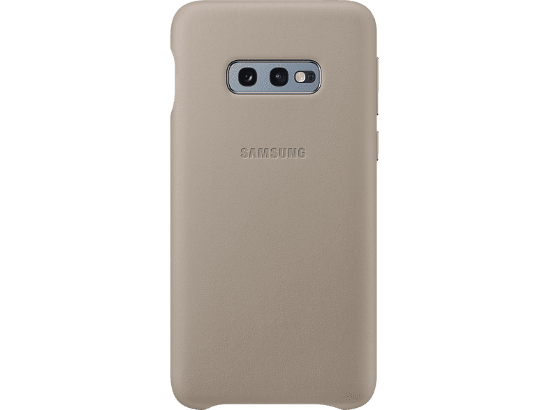 SAMSUNG Leather Cover , Backcover, Samsung, Galaxy S10e, Echtleder, Grau