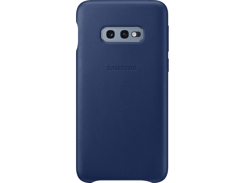 SAMSUNG Leather Cover , Backcover, Samsung, Galaxy S10e, Echtleder, Navy