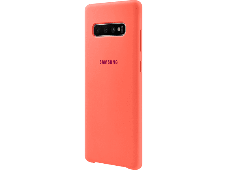 SAMSUNG Silicone Cover , Backcover, Samsung, Galaxy S10+, Berry Pink
