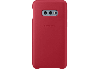 SAMSUNG Leather Cover Handyhülle, Rot, passend für Samsung Galaxy S10e