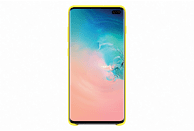 SAMSUNG Silicone Cover , Backcover, Samsung, Galaxy S10+, Gelb