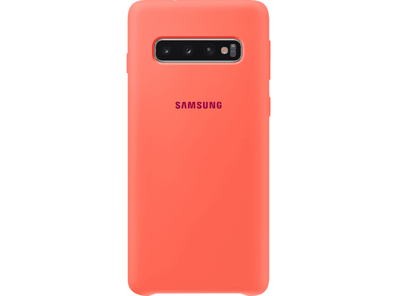 SAMSUNG Silicone Cover , Backcover, Samsung, Galaxy S10, Silikon, Berry Pink