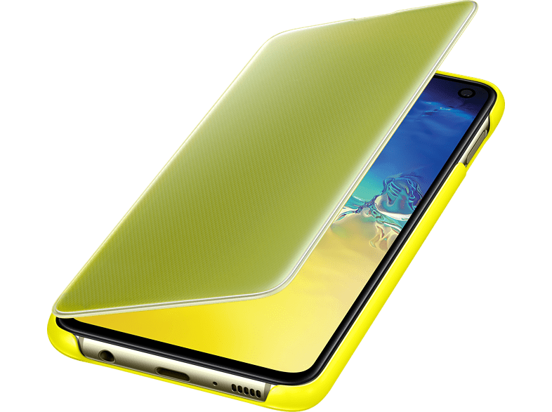 SAMSUNG Clear View Cover , Bookcover, Samsung, Galaxy S10e, Gelb