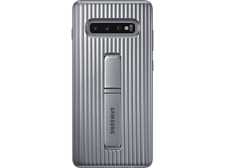 SAMSUNG Protective Standing Cover , Backcover, Samsung, Galaxy S10+, Silber
