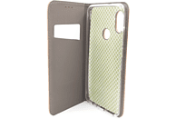 AGM 27558 Magnet Bookcover Xiaomi Redmi Note 5 Obermaterial Kunstleder, Thermoplastisches Polyurethan Gold