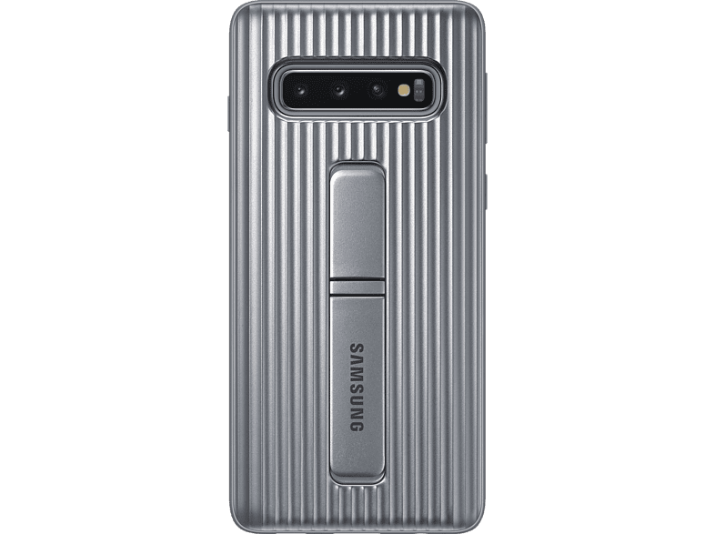 SAMSUNG Protective Standing Cover , Backcover, Samsung, Galaxy S10, Silber