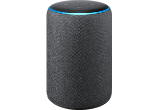 amazon echo plus 2 gen smart speaker in schwarz. Black Bedroom Furniture Sets. Home Design Ideas