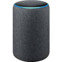 AMAZON Echo Plus (2. Gen.) Smart Speaker, Schwarz/Anthrazit