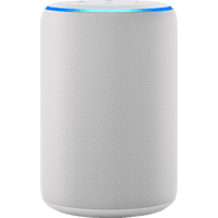 AMAZON Echo Plus (2. Gen.) Smart Speaker, Weiß/Sandstein